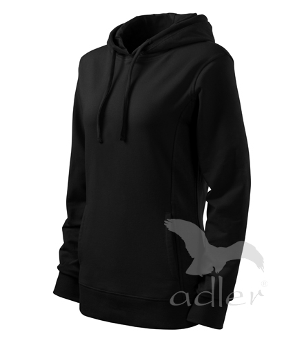 Adler Mikina dámská Kangaroo černá/černá