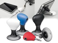 TWINS - stojánek na mobil s dvěma výstupy pro sluchátka