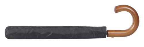 Stansed skládací deštník s dřevěnou rukojetí