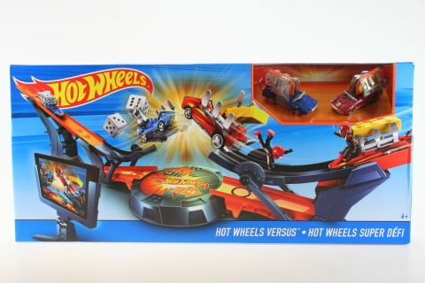 Hot Wheels Dráha Ty proti soupeři DHY25