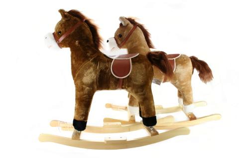Houpací kůň se zvuky