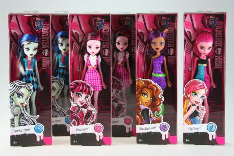 Monster High Příšerka DKY17