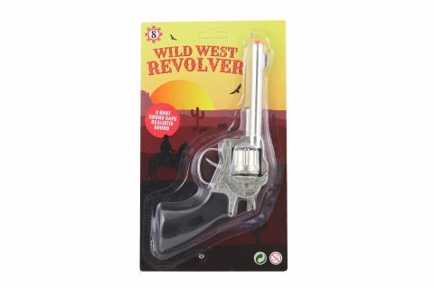Kovová pistole na kapsle