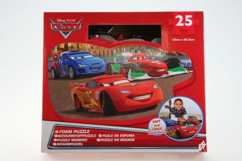 Puzzle pěnové Cars 25 dílků