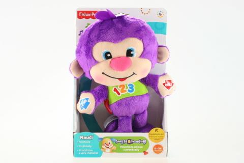 Fisher Price Mluvící opička s protiklady SK