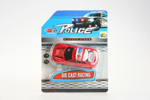 Auto policie kovové zvuk