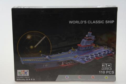 Stavebnice 3D Loď - 110 dílků