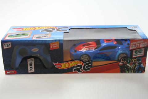 Hot Wheels modré Drift Rod R/C 1:24