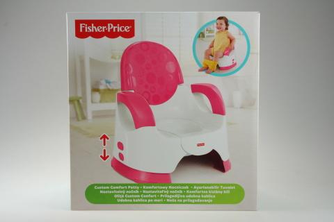 Fisher Price BG růžový nastavitelný nočník CGY50