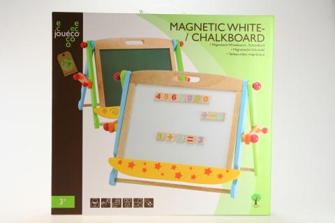 Dřevěná magnetická/křídová tabule