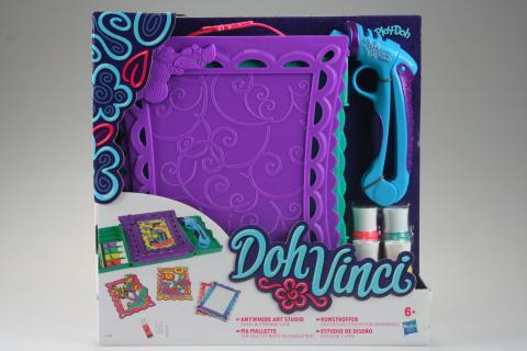 Play Doh Dohvinci cestovní zdobící set