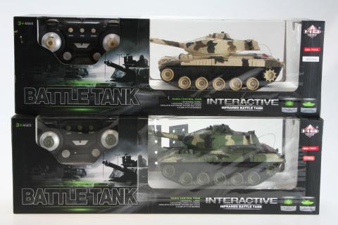 Tank na odálkové ovládání