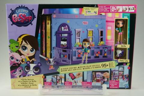 Littlest pet shop Blythina ložnice hrací set