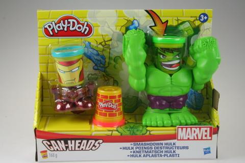 Play Doh Marvel drtící Hulk