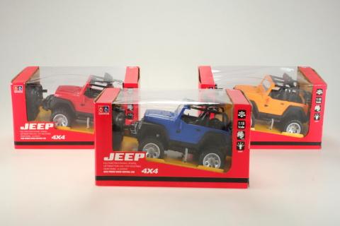 Auto na dálkové ovládání - jeep