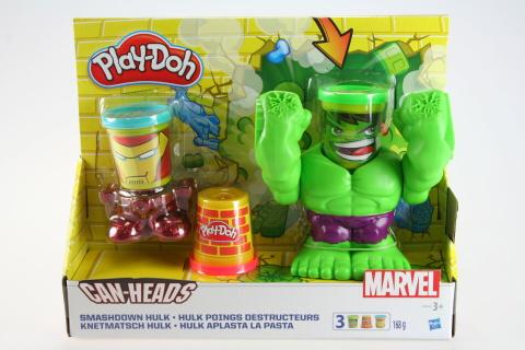 Play -Doh drtící Hulk