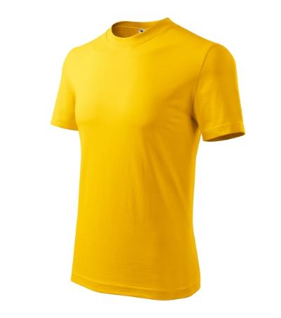 Classic tričko unisex žlutá 3XL