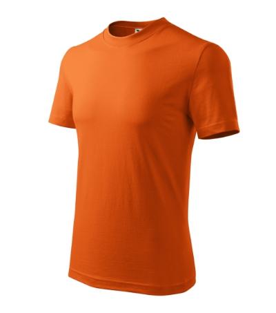 Classic tričko unisex oranžová 3XL