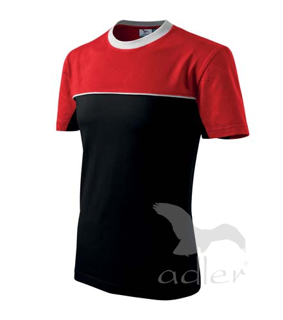 Colormix tričko unisex černá 3XL