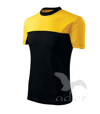 Colormix tričko unisex žlutá 3XL