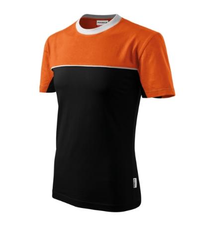 Colormix tričko unisex oranžová 3XL