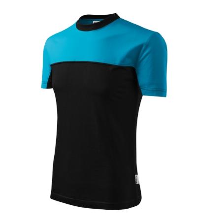 Colormix tričko unisex tyrkysová 3XL