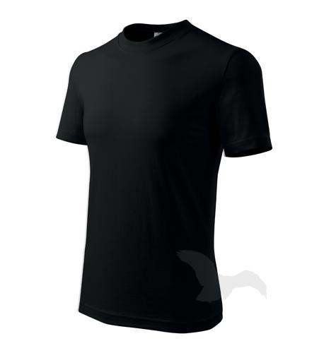 Classic tričko unisex černá 4XL