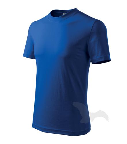Classic tričko unisex královská modrá 2XL