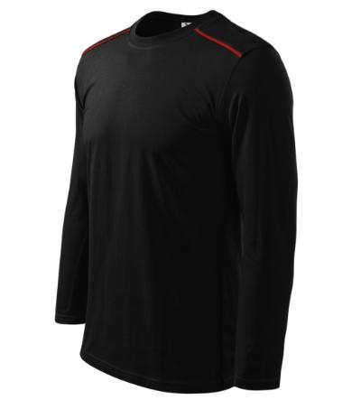 Triko Unisex long sleeve 180 černé XXXL