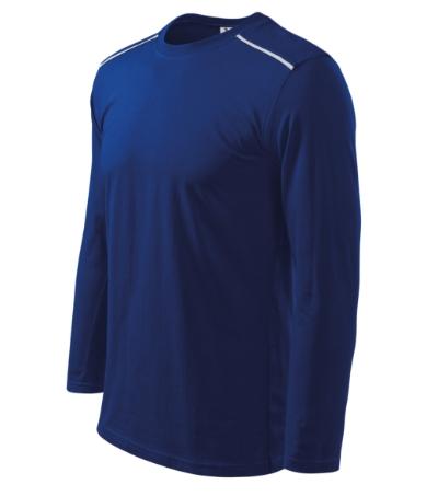 Triko Unisex long sleeve 180 královská modrá XXXL