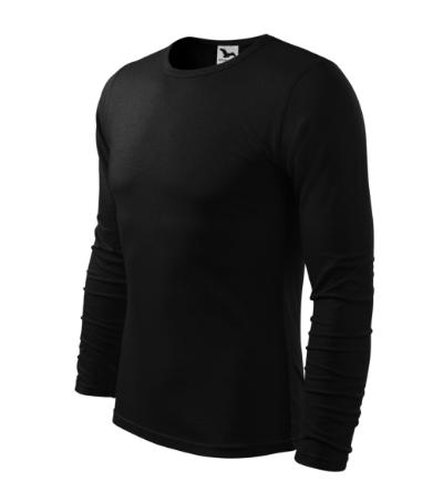 Triko pánské Fit-T Long Sleeve černá XXXL