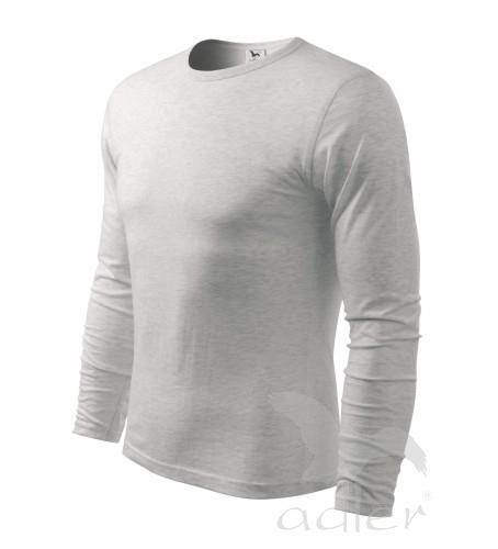 Triko pánské FIT-T Long Sleeve 160 světle šedý mel