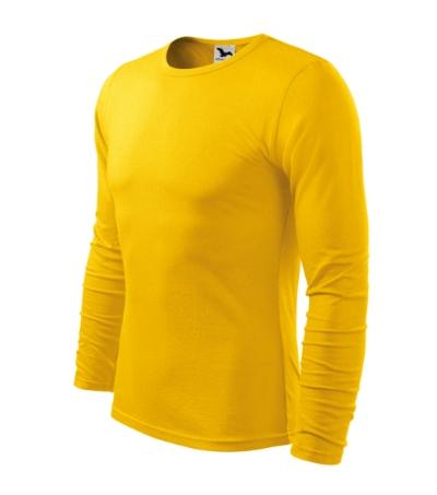 Triko pánské FIT-T Long Sleeve 160 žluté XXL