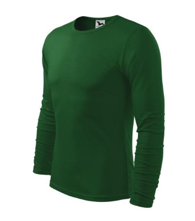 Triko pánské Fit-T Long Sleeve 160 lahvově zelená