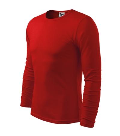 Triko pánské FIT-T Long Sleeve 160 červené XXL