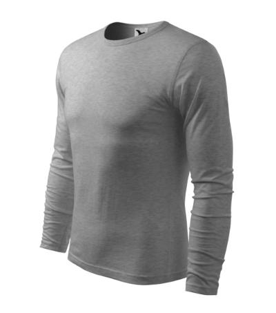 Triko pánské Fit-T Long Sleeve 160 tmavě šedý melí