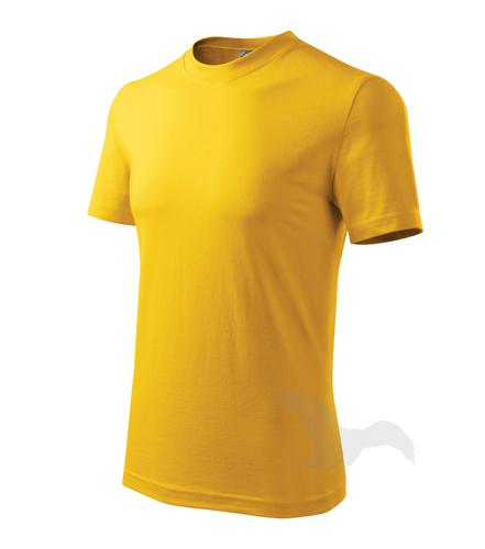Heavy tričko unisex žlutá 2XL