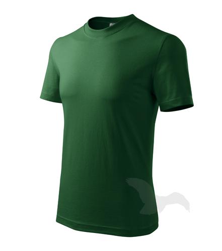 Heavy tričko unisex lahvově zelená 3XL