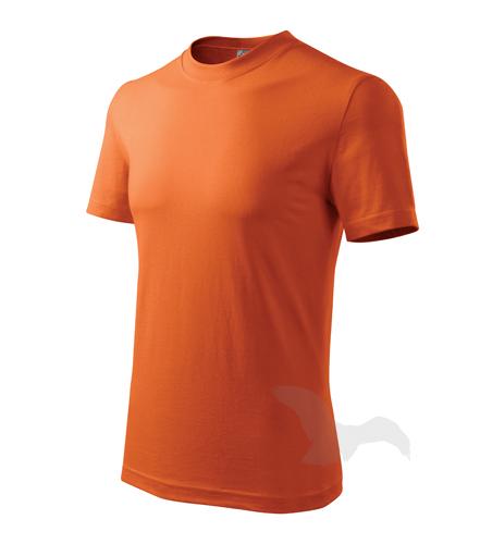 Heavy tričko unisex oranžová 2XL