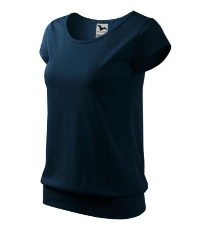 Tričko dámské City námořní modrá XXL