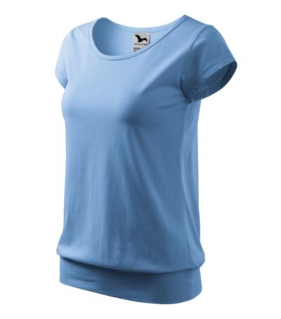 Tričko dámské City 150 nebesky modré XXL