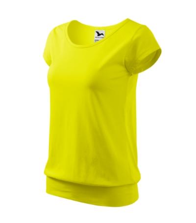 City tričko dámské citronová 2XL