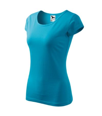 Tričko dámská Pure 150 tyrkysové XXL