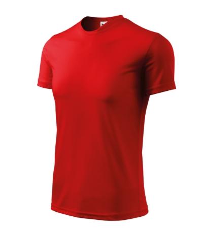 Tričko Fantasy červená XXXL