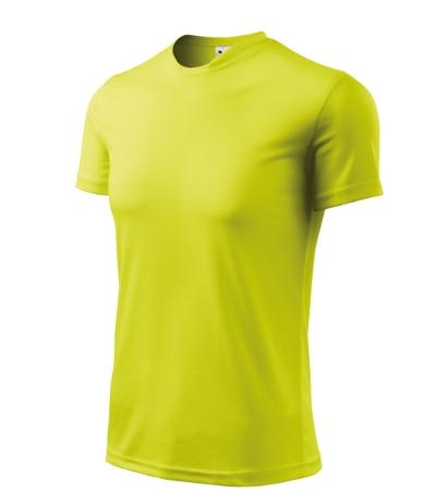 Tričko Fantasy neon yellow XXXL