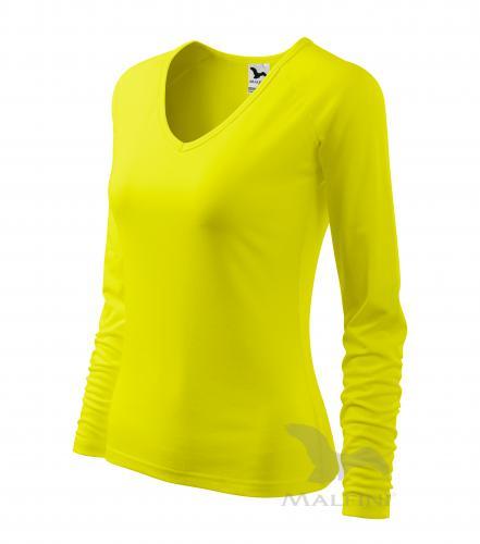 Elegance triko dámské citronová 2XL