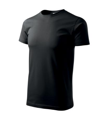Tričko pánské Basic černá 5XL