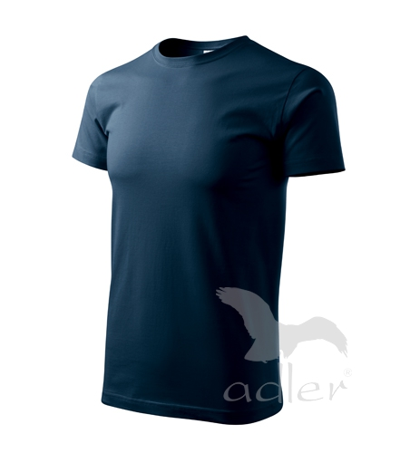 Tričko pánské Basic námořní modrá 5XL