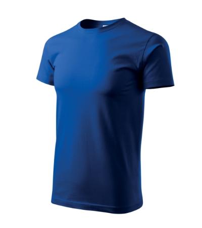 Tričko pánské Basic královská modrá 5XL