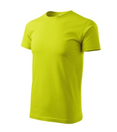 Tričko pánské Basic limetková 4XL